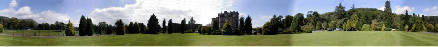 360 degree view at Airthrey castle