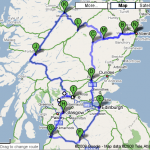 tour route 1976
