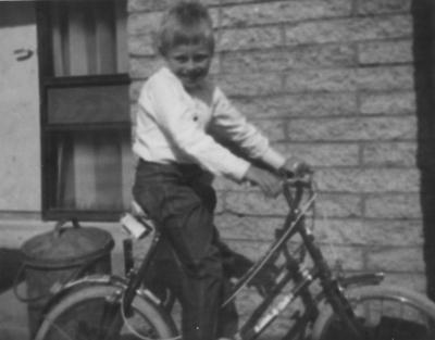 my first 2 wheeled bike