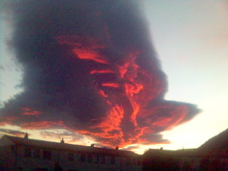 sunset cloud